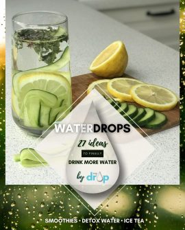 Start drinking more water